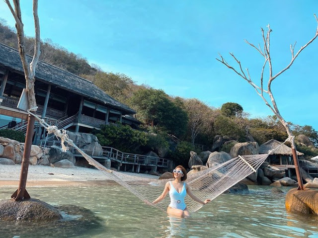 Sau scandal Hot girl Trâm Anh lần đầu đăng ảnh bikini nóng bỏng