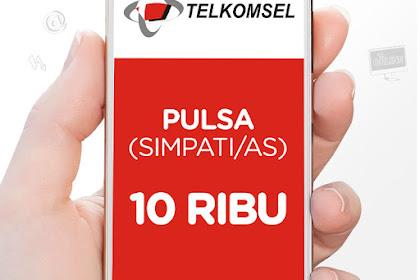 Cara Isi Pulsa Telkomsel Mkios dan Nasional Lewat SMS