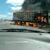 Grave acidente entre Baixa Grande e Macajuba deixa uma pessoa carbonizada