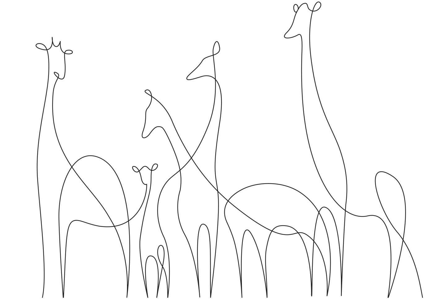 Line Drawing In Qt : One line drawings escola gilpe quart