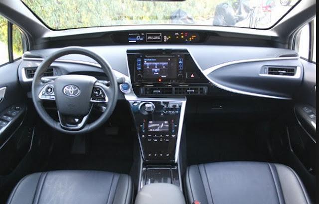2016 Toyota Mirai Specs
