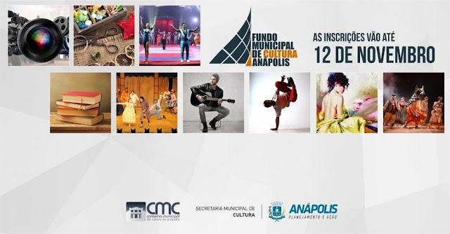 Anápolis: Fundo Municipal de Cultura recebe inscrições até 12 de novembro