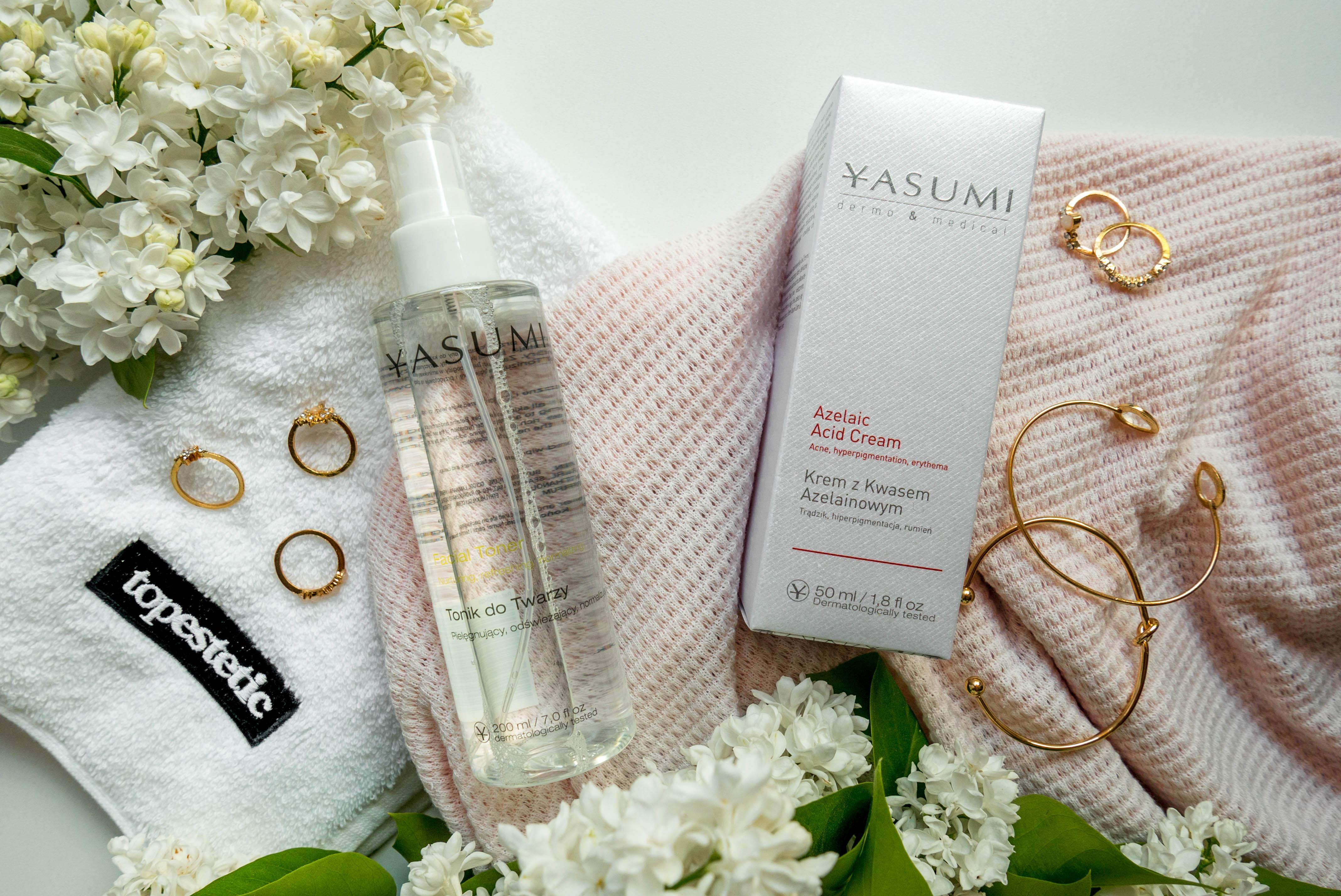 Kosmetyki z kwasem azelainowym