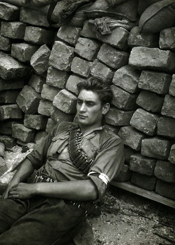 World War II in Pictures Pictures of Utter Exhaustion