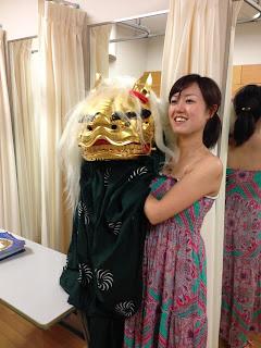ロスコモーションオーケストラ,竹生会獅子舞