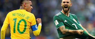 المكسيك يتراجع دفاعيا أمام كتيبة البرازيل