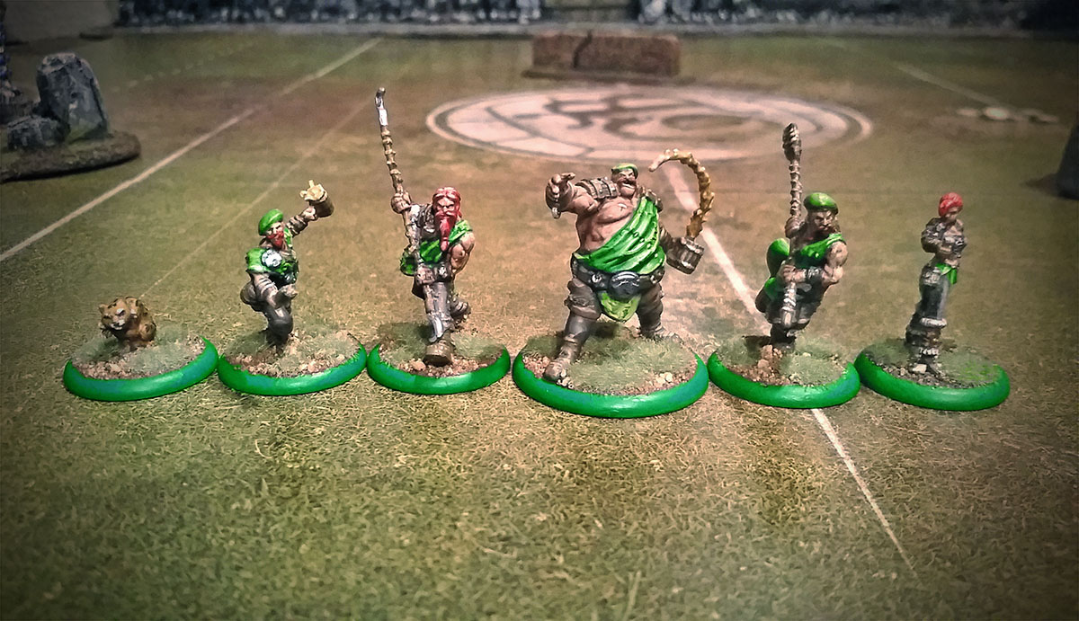 guild ball kick off painted brewers