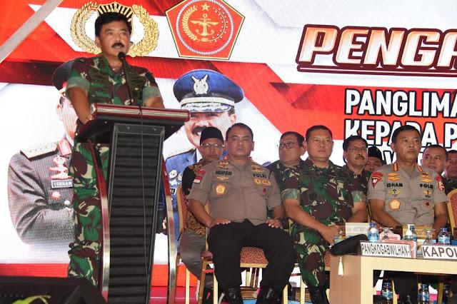 TNI-Polri Siapkan Operasi Kemanusiaan di Pulau Galang