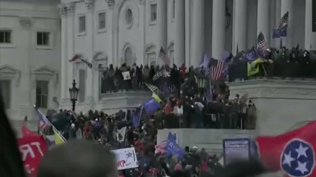 US Capitol: Trump supporters create ruckus in Capitol building, one woman killed in shootout