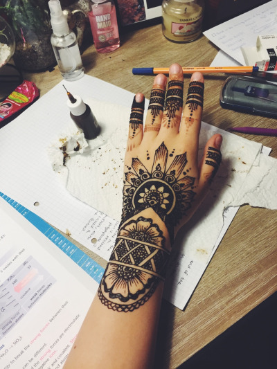 Gorgeous Henna Tattoo Designs