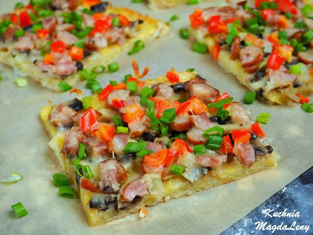 Placek ziemniaczany pizza
