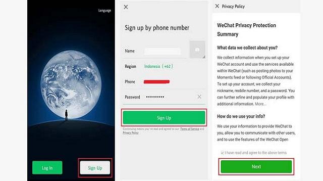 Cara hack password wechat dengan mudah
