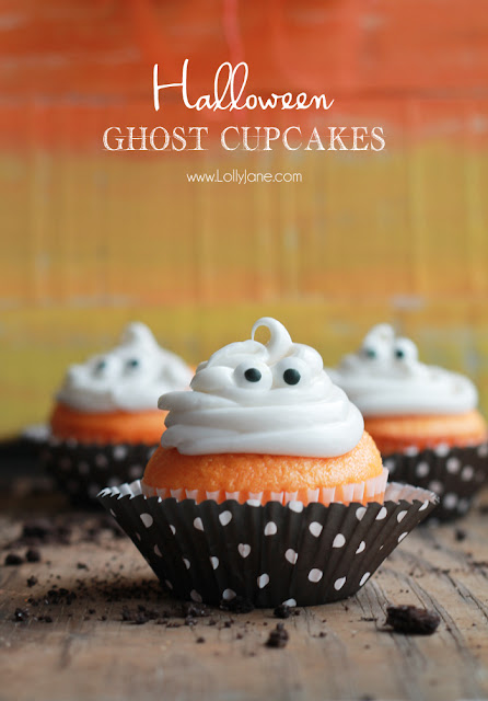 Ghost Cupcakes Halloween Recipe