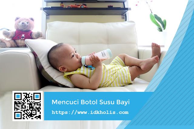Cara Mencuci Botol Susu Bayi