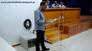 Γιώργος Κοκαβίδης : Σκοπός μας είναι να δώσουμε την ώθηση για μια νέα αρχή στον Πιερικό.
