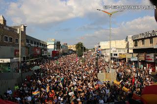 IMG 9970 - 13ª Parada do Orgulho LGBT Contagem reuniu milhares de pessoas