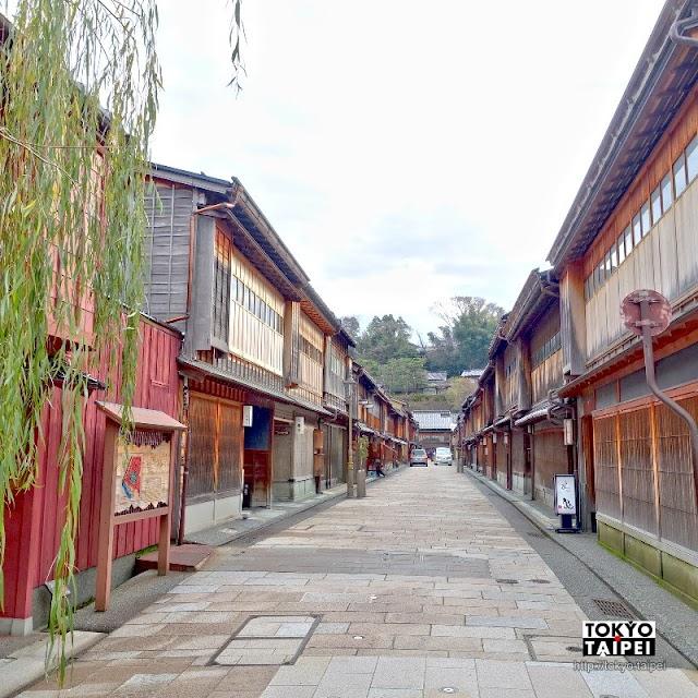 【東茶屋街】展現昔日風華的金澤歷史街道 江戶時代藝妓表演場
