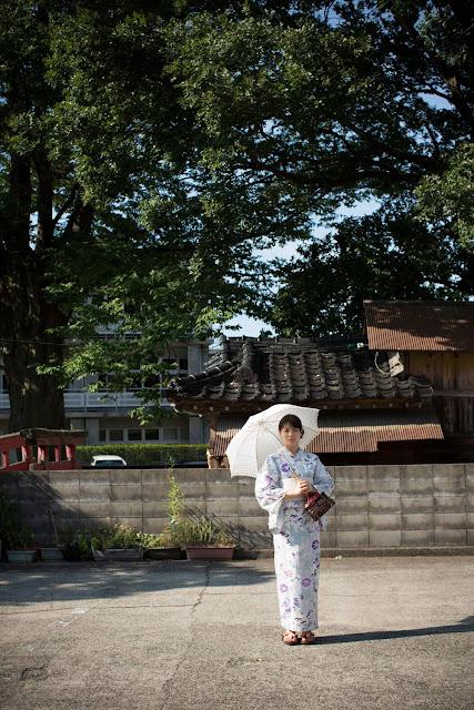 Maimi Yajima in kimono