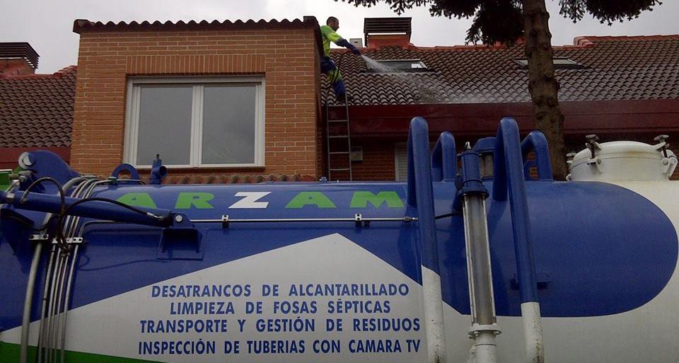 limpiezas desatrancos especiales Madrid