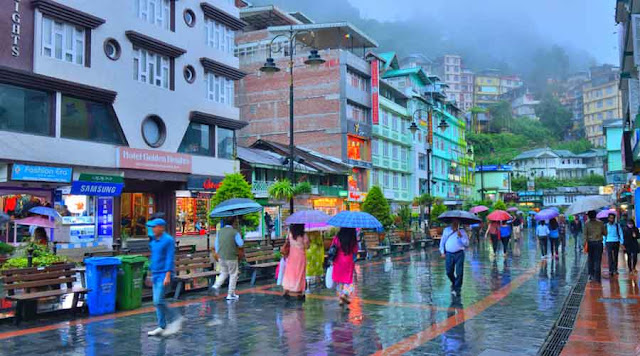 Sikkim reels from rain fury