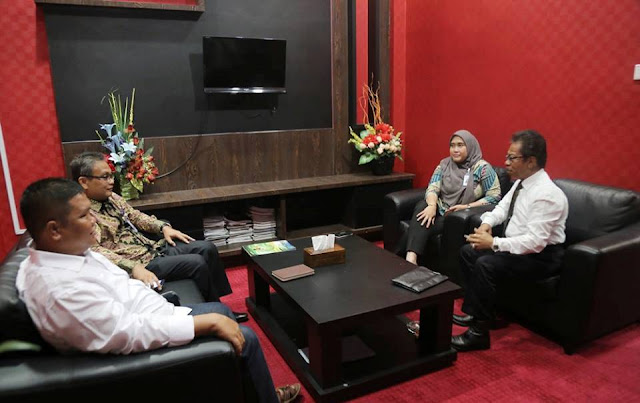 Ketua DPRD Kepri Terima Kunjungan Pimpinan Cabang BTN Tanjungpinang