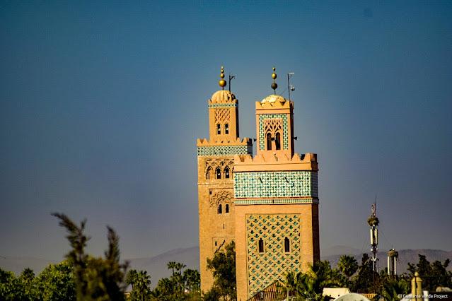 Marrakech, minaretes de la Kasbah y de la Koutoubia por El Guisante Verde Project