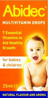 Abidec Multivitamin Drops For Babies and Children 25ml