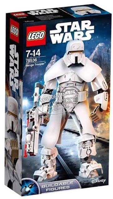 Lego Star Wars Han Solo - Buildable Figure Range Trooper (75536)