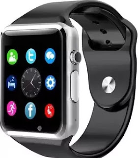 Jokin Bluetooth A1 Smart Watch (Silver)