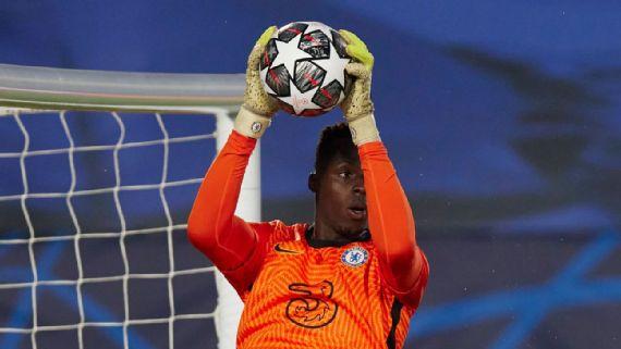 Chelsea goalkeeper Edouard Mendy photo