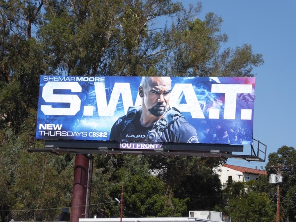 S.W.A.T. TV remake billboard