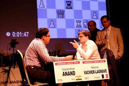 La finale Anand vs MVL au Corsican Circuit 2016- Photo © Joseph Dornbusch