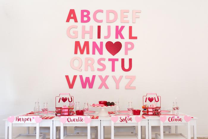 Mesa dulce para San Valentín by Habitan2 | Decoración personalizada para hogar y eventos