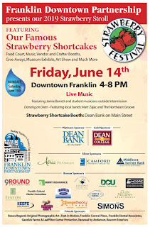 Franklin Downtown Partnership: Strawberry Stroll - June 14, 2019