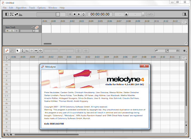 Screenshot Celemony Melodyne Studio 4 v4.2.4.001 Full Version