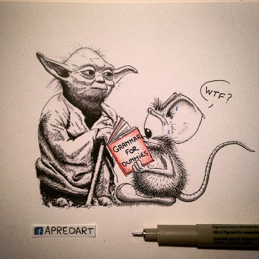 01-Star-Wars-Yoda-Loïc-Apreda-apredart-Drawings-of-Rikiki-the-Mouse-and-his-Famous-Friends-www-designstack-co