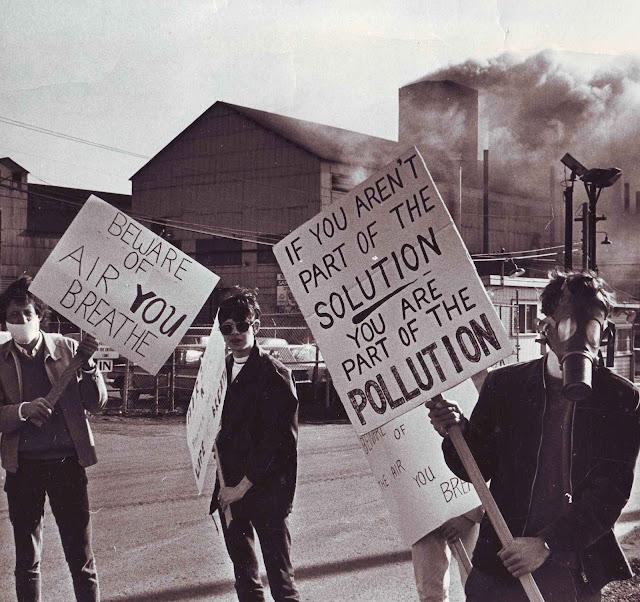 Uma contra-cultura baseada em profecias que jamais se cumpriram. O Earth Day 1970 em Ohio.