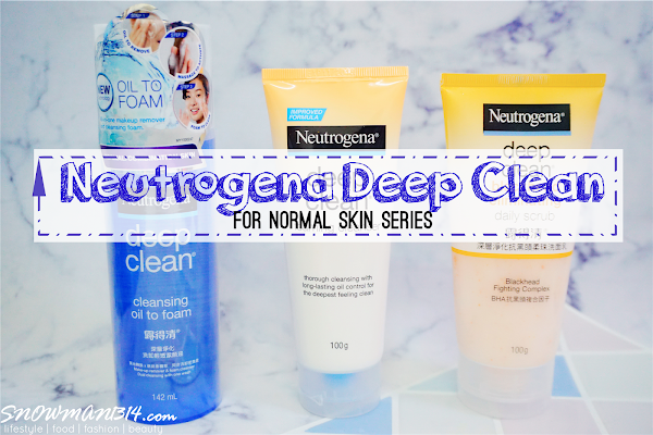 Neutrogena Deep Cleanse Set - Happy Skin 24/7!