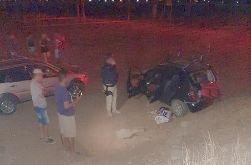 Acidente envolvendo dois carros é registrado próximo ao Residencial Vivendas em Petrolina (PE)