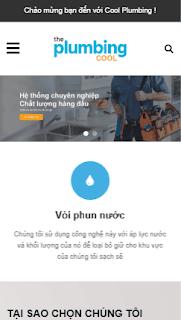 Giao diện blog Giới thiệu Doanh nghiệp Công ty dịch vụ