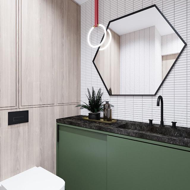 Mosaic Tiles Bathroom Design Ideas