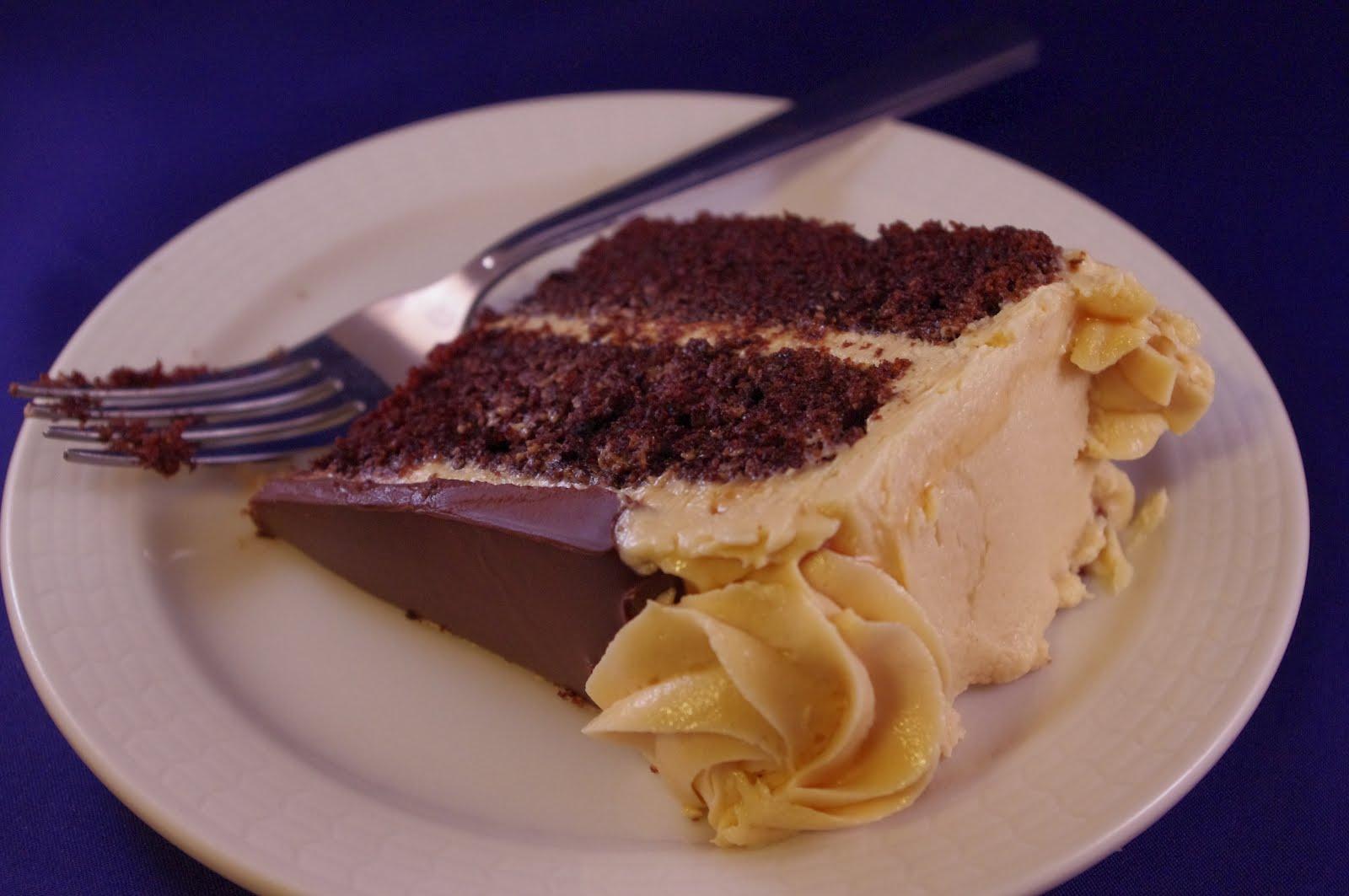 4 Goodness Bake Dark Chocolate Cake With Peanut Butter