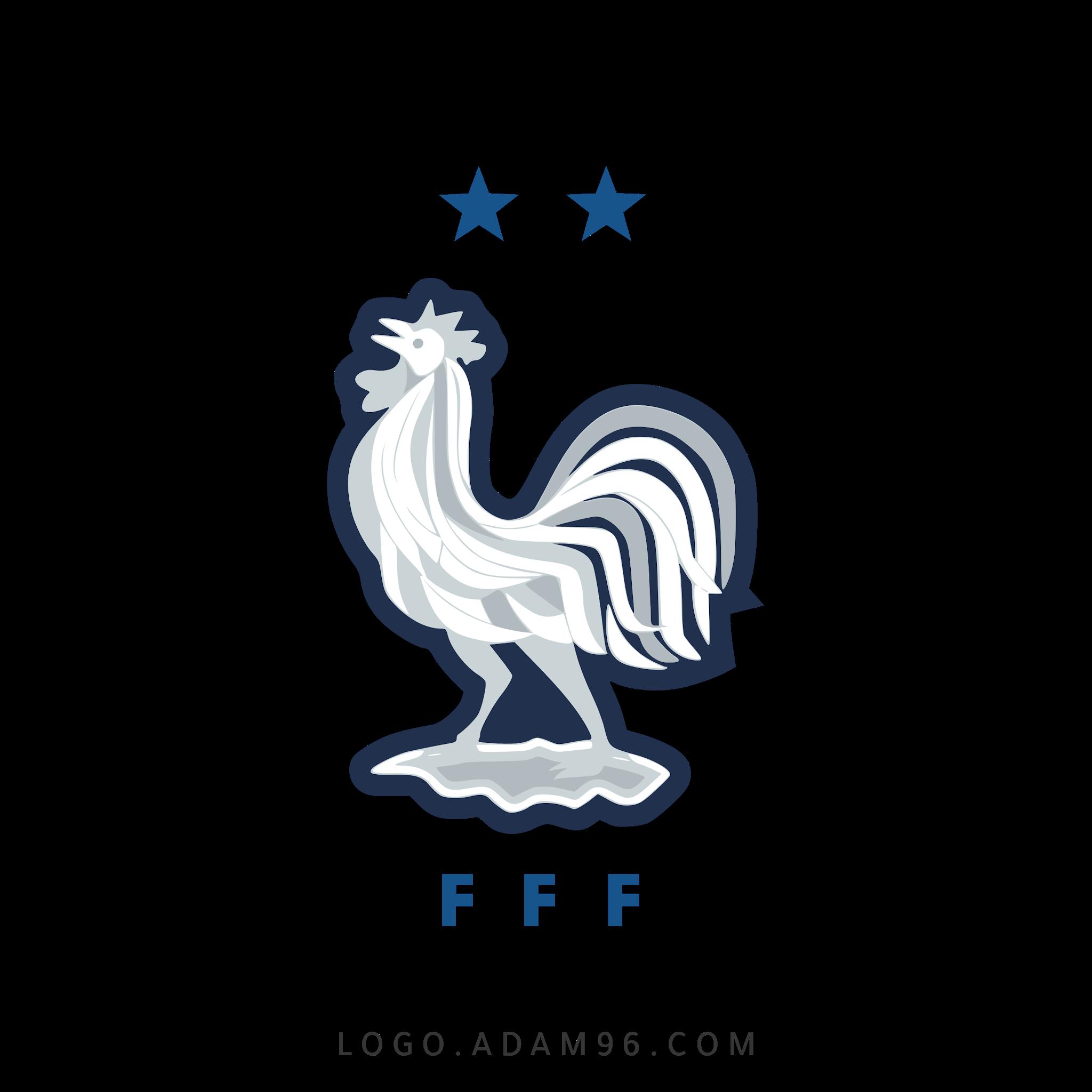 تحميل شعار منتخب فرنسا لكرة القدم لوجو رسمي عالي الدقة بصيغة شفافة PNG