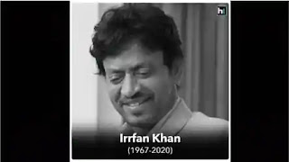 RIP Irrfan Khan 💐