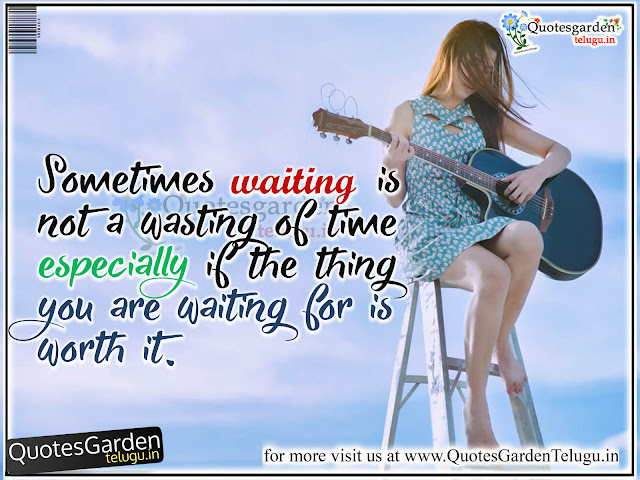 Heart touching messages love quotes about waiting - Quotes Garden Telugu