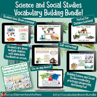 https://www.teacherspayteachers.com/Product/Distant-Learning-Building-Vocabulary-Science-and-Social-Studies-BoomCard-Bundle-5539469?utm_source=coronacoaster%20blog%20post&utm_campaign=S%20and%20SS%20vocab%20boom