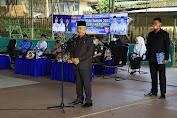 Bupati Kerinci Pimpin Upacara Peringatan HGN dan HUT PGRI ke 75