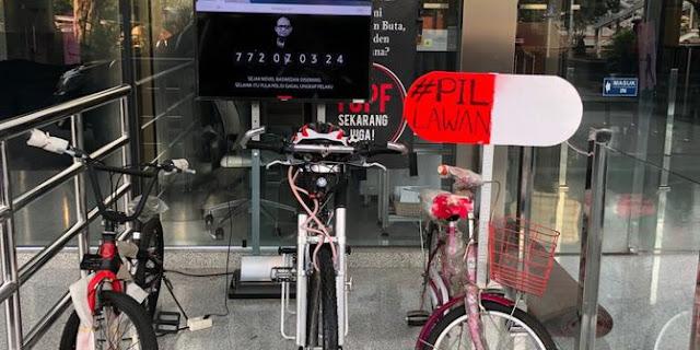Tiga Sepeda Disiapkan untuk Sayembara Pengungkapan Kasus Novel Baswedan