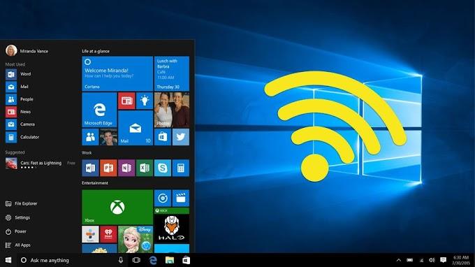 Cara menggunakan Windows 10 Sebagai hotspot Wi-Fi