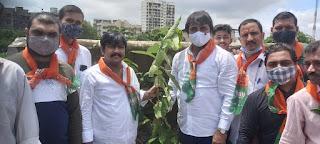 पर्यावरण की सुरक्षा और संतुलन के लिए वृक्षारोपण आवश्यक–राम यादव | #NayaSaberaNetwork